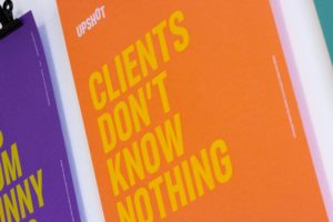 Clients don't know nothing