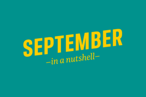 September – in a nutshell