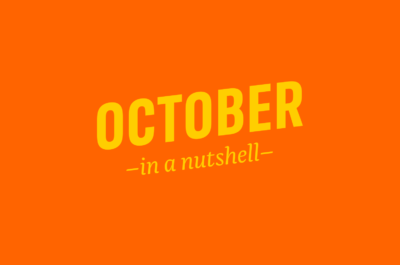 October – in a nutshell