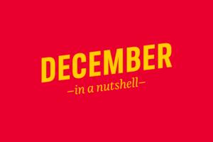 December – in a nutshell