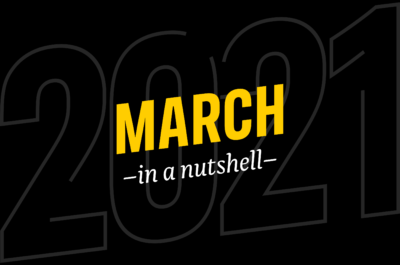 March – in a nutshell