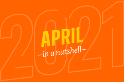 April – in a nutshell