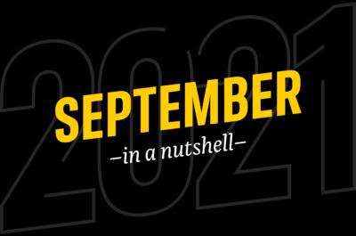 September – in a nutshell